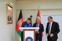 The First Deputy Interior Minister of Islamic Republic of Afghanistan Mr. Abdul Saboor Qani visited our Training Center.