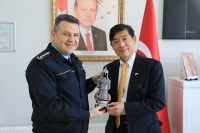 Mr. Akio MIAJIMA Ambassador of Japan to Ankara Visited Sivas Police Vocational Training Center